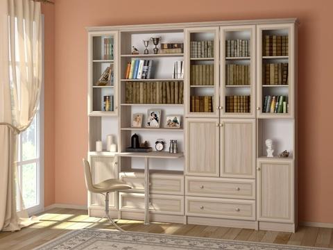 Шкаф комбинированный Брайтон 14 Ижмебель ясень асахи