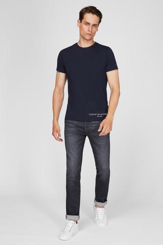 Мужские серые джинсы SLIM BLEECKER PSTR OAKLAND BLACK Tommy Hilfiger