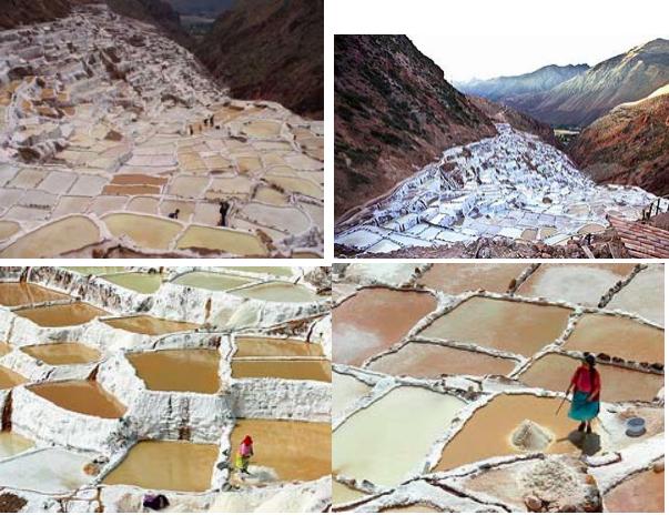 Розовая перуанская соль пищевая