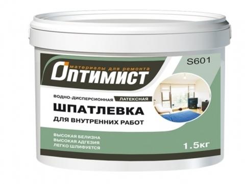 Оптимист Шпатлевка латексная для внутренних работ S601
