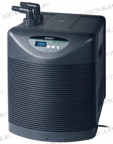 Холодильник для аквариума с титановым корпусом Hailea HC-1000BH + нагрев (300-2000л)