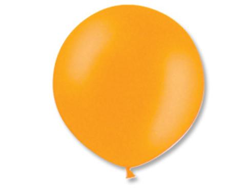 Большой воздушный шар оранжевый