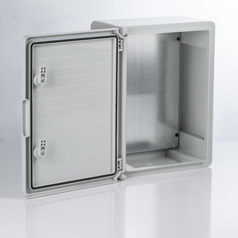 Бокс пластиковый ЩМП-0-4, ABS, IP65, -45 до +75 С, навесной, (400x300x220) TDM