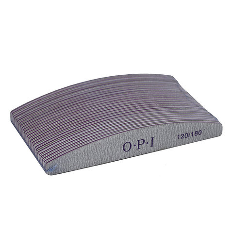 Пилка OPI 120/180 Полумесяц