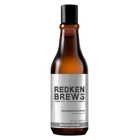 Redken Brews: Мужской уплотняющий шампунь (Thickening Shampoo), 300мл