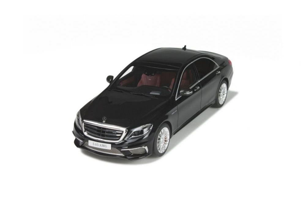 Коллекционная модель MERCEDES-BENZ W222 S-CLASS S65 AMG 2017 BLACK