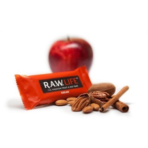 Батончик натуральный R.A.W. LIFE Red Пекан