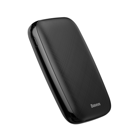 Портативное зарядное устройство Baseus Mini Q power bank 10000mAh(M+T input/output 50 cm micro cable) black