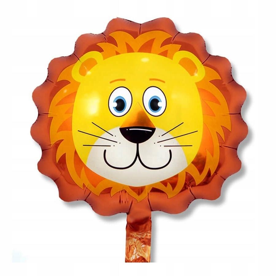 Фольгированный шар «Голова льва»,74 см