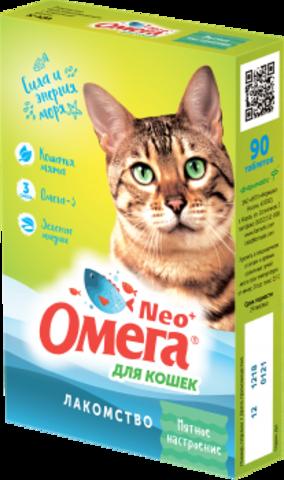 Омега Neo+ Мятное настроение для кошек 90 таб.