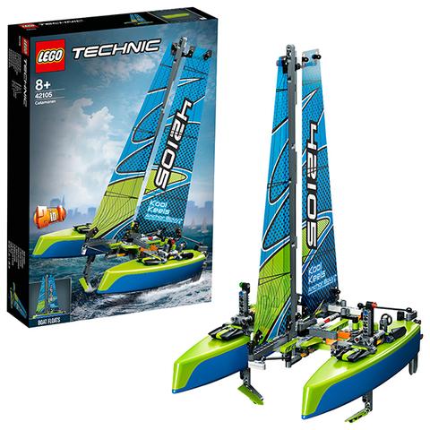 LEGO Technic 42105 Конструктор ЛЕГО Техник Катамаран