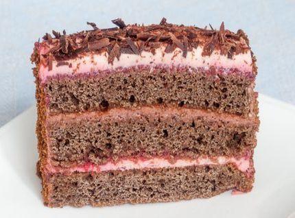 Черемуховый безглютеновый торт