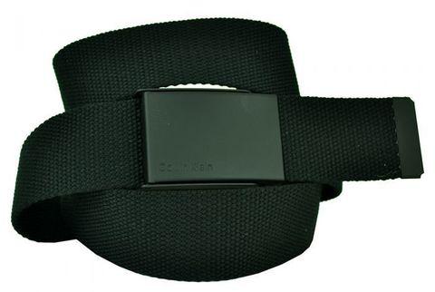Ремень текстильный чёрный стропа 4 см 40Stropa-CK-003-1
