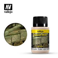 Weathering Effects 40ml. Wet Light Brown Splash Mud