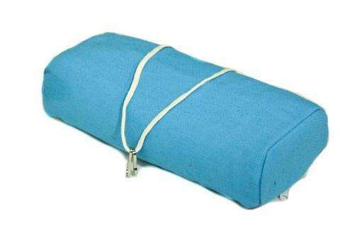 Подушка для гамака из льна голубая RGP8