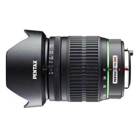 Объектив Pentax DA 17-70mm f/4 AL IF SDM Black для Pentax