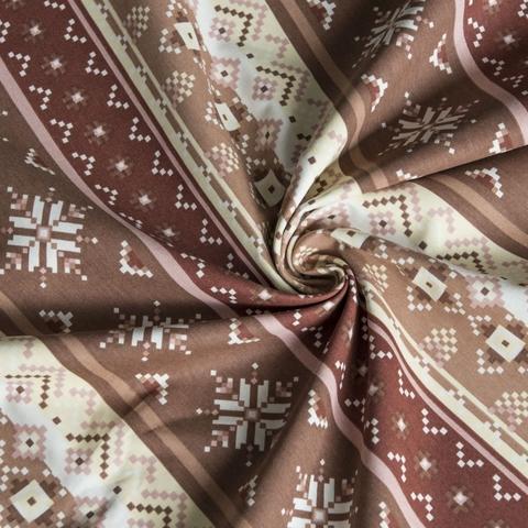 Ткань хлопок Уолис коричневый