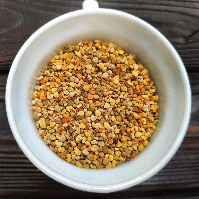 Фотография Пыльца разнотравье / 1 кг купить в магазине Афлора