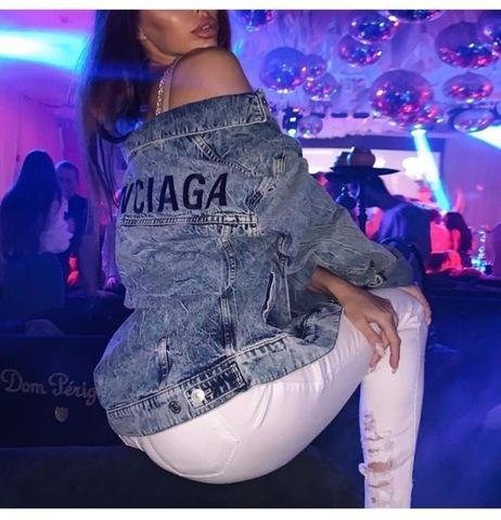 Рубашка женская Аналог Balenciaga