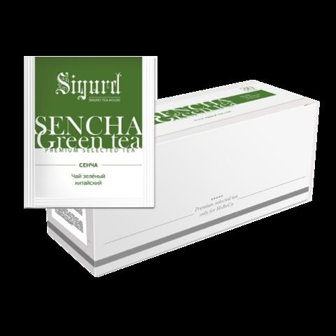 Чай Sigurd Сенча зеленый на чашку (150 пак)