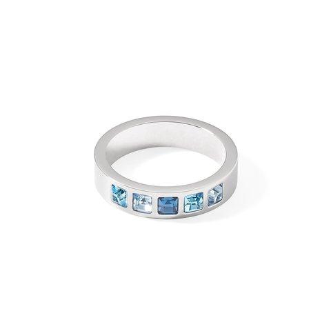 Кольцо Blue-Silver 18,4 0130/40-0717 58