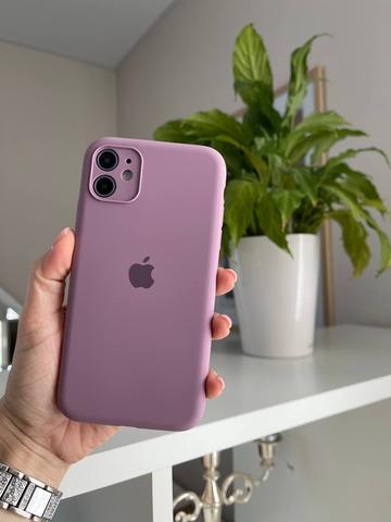 Чехол iPhone 11 Silicone Case Full Camera /blueberry/