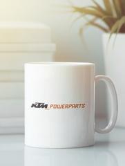 Кружка с рисунком KTM (KTM AG) белая 006