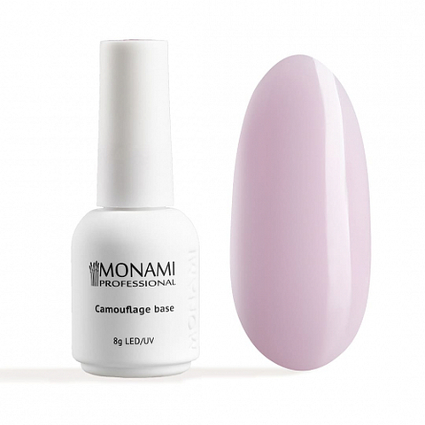 Monami Camouflage base Quartz Pink, 8 гр