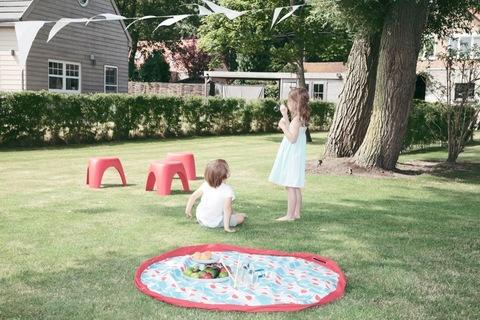 Коврик-мешок для игрушек Play&Go. Коллекция Designer. Бадминтон