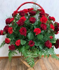 гвоздика+роза