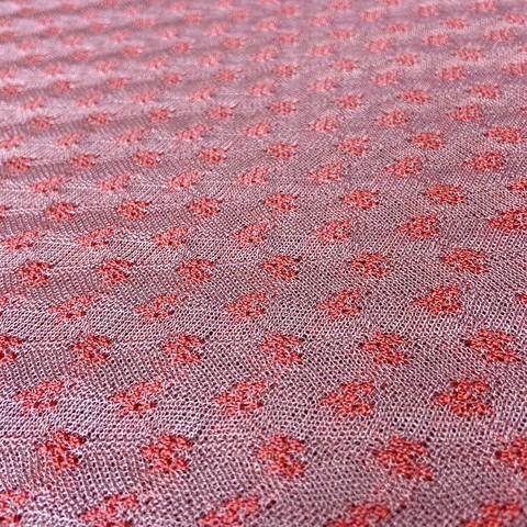 Ткань трикотаж Missoni  розовый цвет 3143
