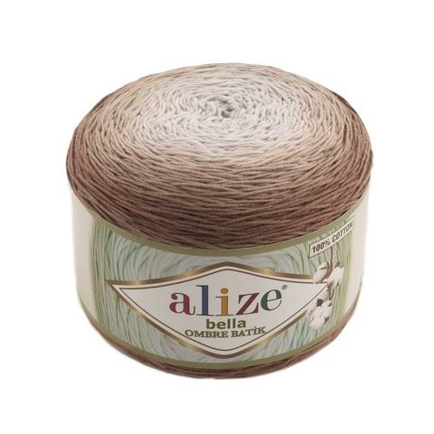 Пряжа Alize Bella Ombre Batik цвет 7410