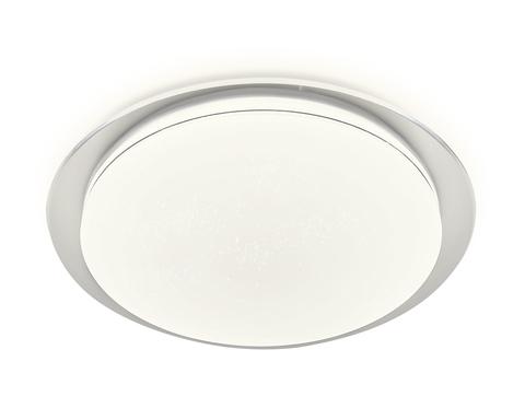 Потолочный светодиодный светильник с пультом FF47 WH белый 48W D450*75 (ПДУ ИК)