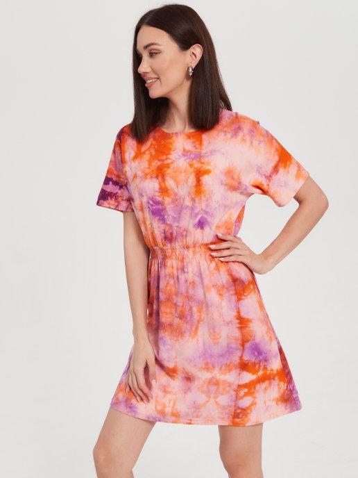 Летнее платье от Brandmania из мягкого хлопкового трикотажа