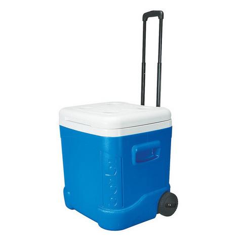 Изотермический контейнер (термобокс) Igloo Ice Cube 60 Roller (57 л.), синий