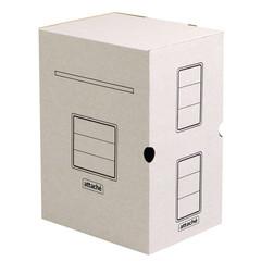Короб архивный Attache микрогофрокартон белый 256x200x320 мм (5 штук в упаковке)