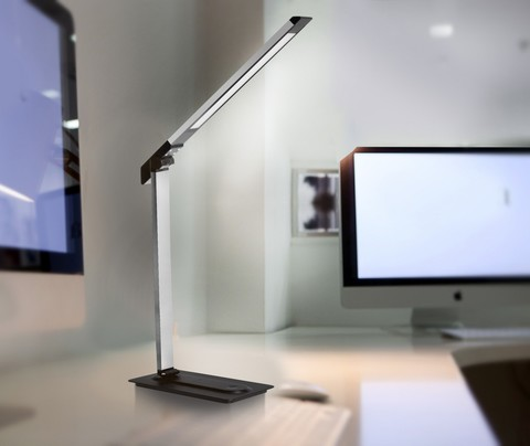 Светодиодная настольная лампа Camelion KD-846 С01  белый