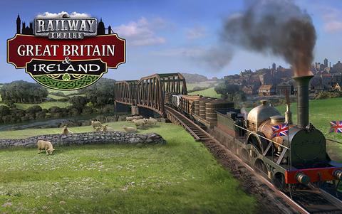 Railway Empire: Great Britain & Ireland (для ПК, цифровой ключ)