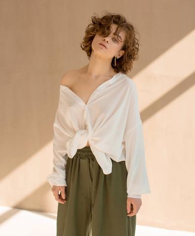 Рубашка Alium white