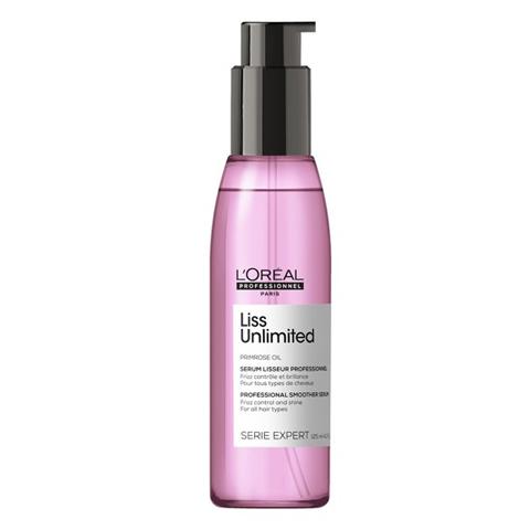 L'Oreal Professionnel Liss Unlimited: Термозащитное масло-сияние для непослушных волос (Primrose Oil Liss Unlimited), 125мл