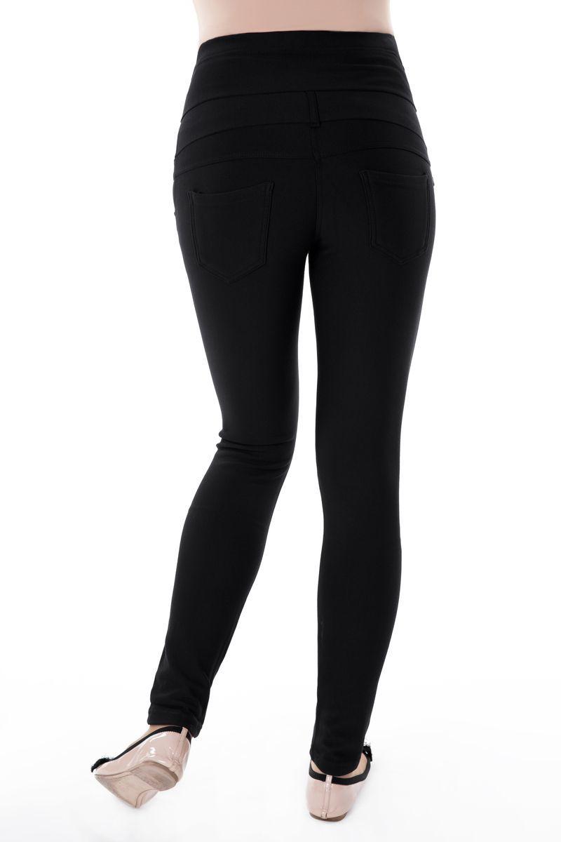 Утепленные брюки для беременных 03418 черный