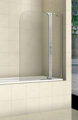 Стеклянная шторка на ванну Welt-Wasser WW 100T2 100
