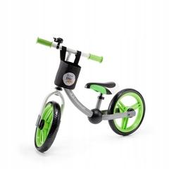 Беговел Kinderkraft 2WAY NEXT Green/Grey с аксессуарами