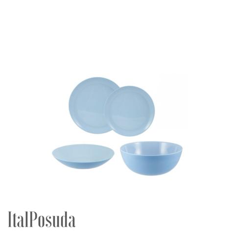 Столовый сервиз Luminarc Diwali Blue (Дивали Блю), 19 предметов P2961