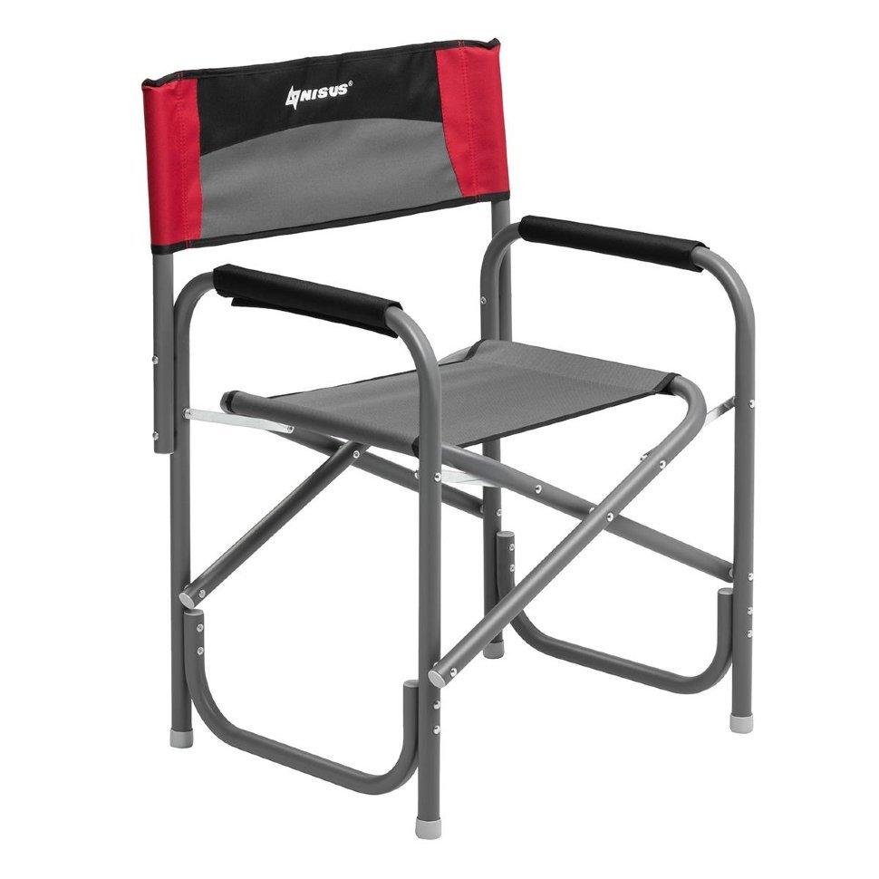 Кресло алюминиевое складное Nisus N-DC-95200-GRD