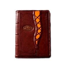 Ежедневник кожаный в стиле 19 века модель 1