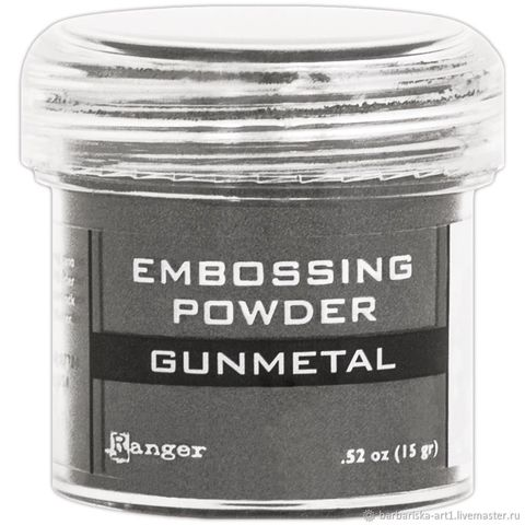 Пудра для эмбоссинга Ranger Ink- GUNMETAL