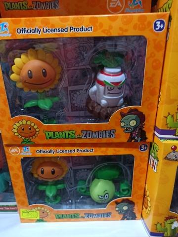 2 набора Растения против зомби 4 шт