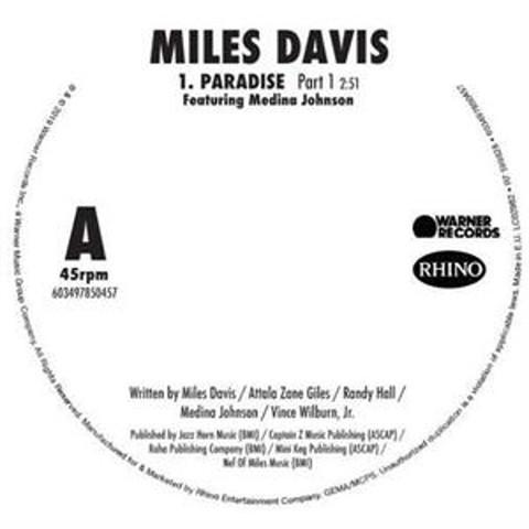 Miles Davis / Paradise (7