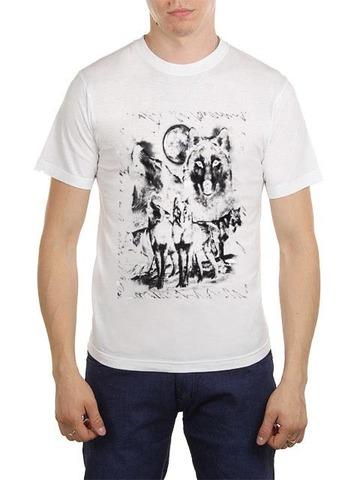 461493-24 футболка мужская, белая